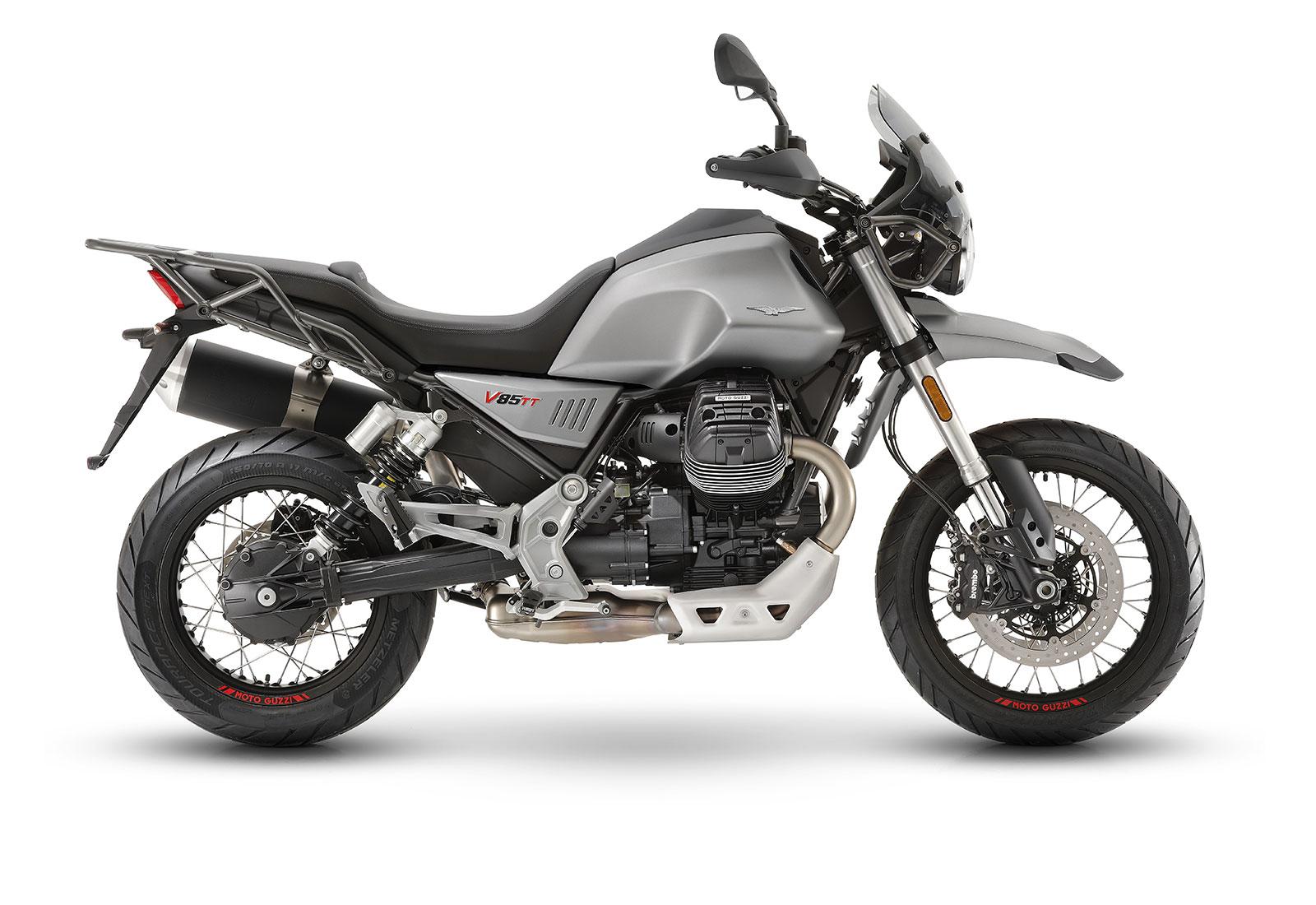 moto guzzi V85 TT grigio
